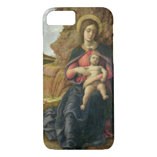 Madonna of the Cave, 1488-90 (tempera on panel) iPhone 7 Case