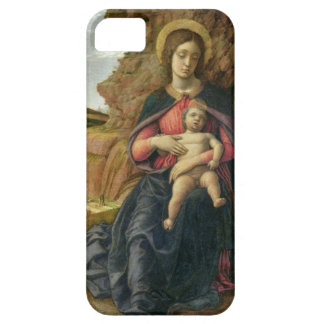 Madonna of the Cave, 1488-90 (tempera on panel) iPhone SE/5/5s Case