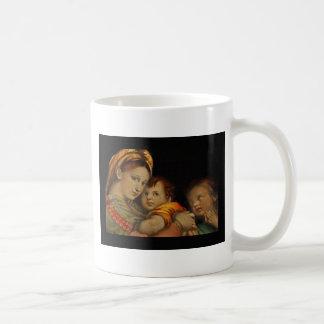 Madonna of the Chair Coffee Mug