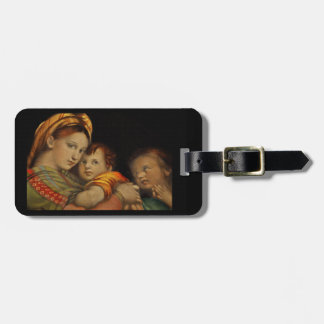Madonna of the Chair Luggage Tag