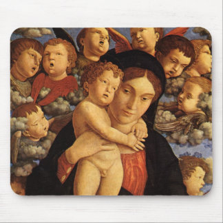 Madonna of the Cherubim by Andrea Mantegna Mouse Pad