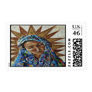Madonna of the Dispossessed Postage