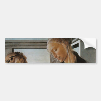 Madonna of the Eucharist by Botticelli Bumper Sticker
