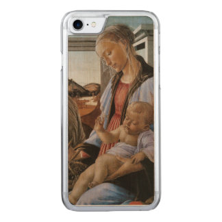 Madonna of the Eucharist by Botticelli Carved iPhone 7 Case