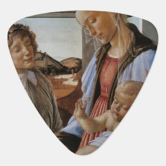 Madonna of the Eucharist by Botticelli Guitar Pick