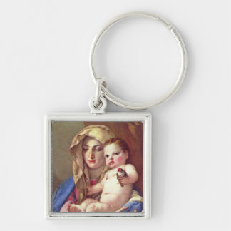 Madonna of the Goldfinch Keychains