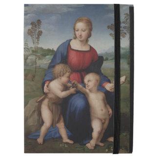 Madonna of the Goldfinch Raphael iPad Pro Case
