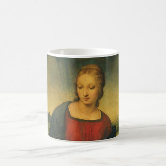 Madonna of the Goldfinch, Raphael Renaissance Art Coffee Mug