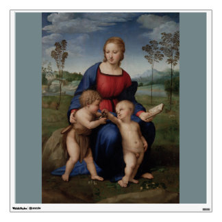 Madonna of the Goldfinch Raphael Sanzio Wall Sticker