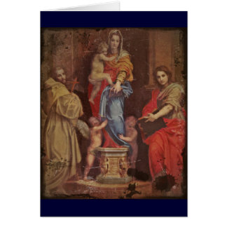 Madonna of the Harpies Card