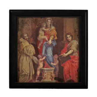 Madonna of the Harpies Jewelry Boxes