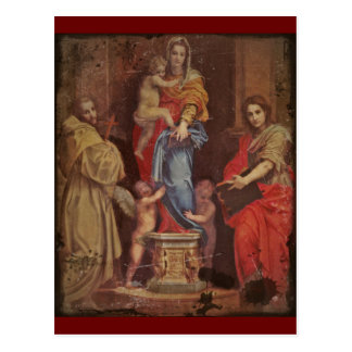 Madonna of the Harpies Postcard