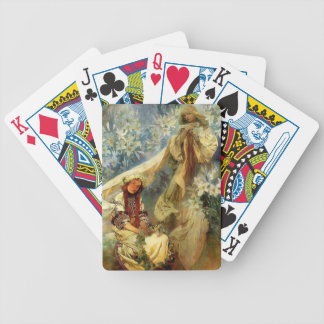 Madonna of the Lilies 1905 Bicycle Playing Cards