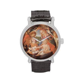 Madonna of the Magnificat, Botticelli, Renaissance Wrist Watches