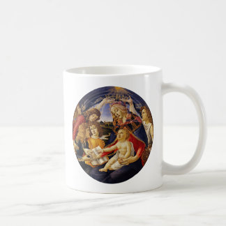 Madonna of the Magnificat by Botticelli Coffee Mug