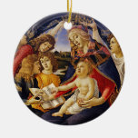 Madonna of the Magnificat by Botticelli Ornament