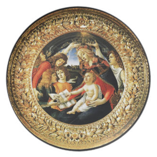 Madonna of the Magnificat Dinner Plate