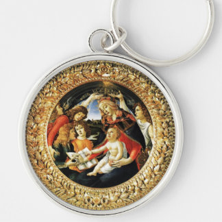 Madonna of the Magnificat Keychains