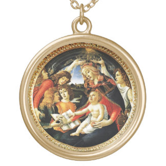 Madonna of the Magnificat Necklaces