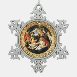 Madonna of the Magnificat Ornament