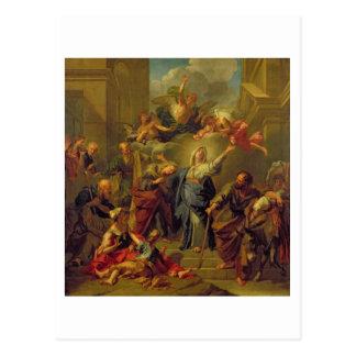 Madonna of the Magnificat Postcards