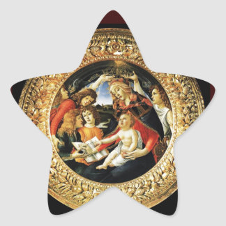 Madonna of the Magnificat Star Star Sticker