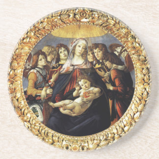 Madonna of the Pomegranate Coaster