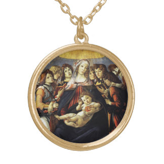 Madonna of the Pomegranate Necklace