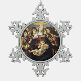 Madonna of the Pomegranate Ornament