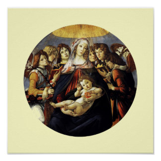 Madonna of the Pomegranate Poster