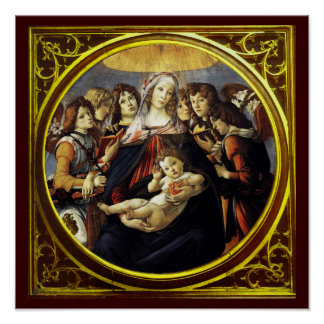 Madonna of the Pomegranate Posters