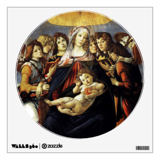 Madonna of the Pomegranate Wall Decal
