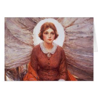 Madonna of the Prairie by WHD Koerner, Vintage Art Greeting Card