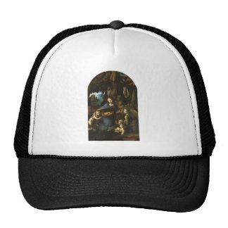 Madonna of the Rocks by Leonardo da Vinci c.1483 Trucker Hat