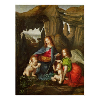 Madonna of the Rocks Postcard