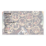 Madonna Of The Rosary By Lotto Lorenzo (Best Quali Business Cards