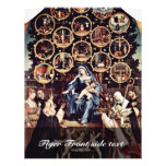Madonna Of The Rosary By Lotto Lorenzo (Best Quali Flyers