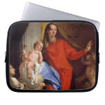 Madonna of the Rosary (oil on canvas) Laptop Computer Sleeve