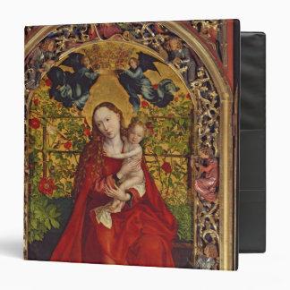 Madonna of the Rose Bower, 1473 3 Ring Binder