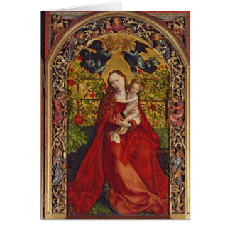 Madonna of the Rose Bower, 1473 Card