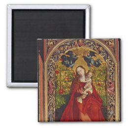 Madonna of the Rose Bower, 1473 Magnet