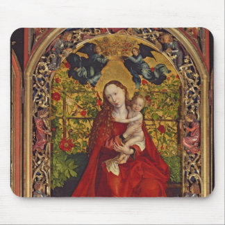 Madonna of the Rose Bower, 1473 Mouse Pad