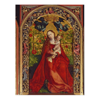Madonna of the Rose Bower, 1473 Postcard