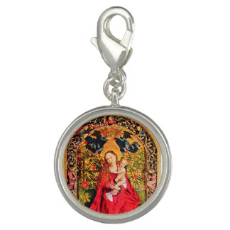 MADONNA OF THE ROSE BOWER PHOTO CHARMS