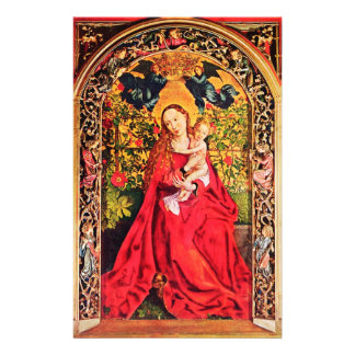 MADONNA OF THE ROSE BOWER STATIONERY