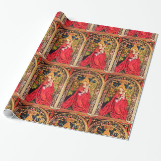 MADONNA OF THE ROSE BOWER WRAPPING PAPER