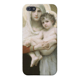 Madonna of the Roses iPhone SE/5/5s Cover