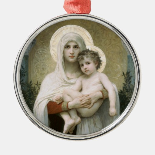 Madonna of the Roses Ornaments