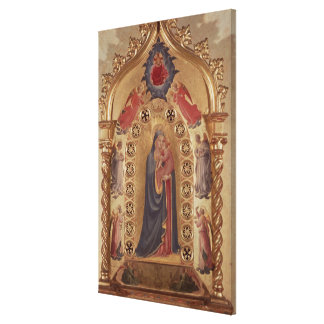 Madonna of the Stars Canvas Print