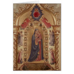 Madonna of the Stars Greeting Card